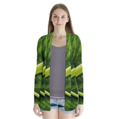Leaf Dark Green Cardigans