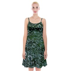 Morning Dew Spaghetti Strap Velvet Dress