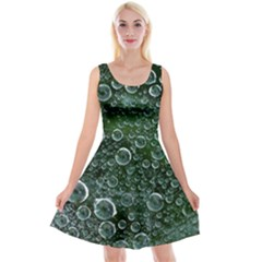Morning Dew Reversible Velvet Sleeveless Dress