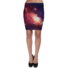 Nebula Elevation Bodycon Skirt