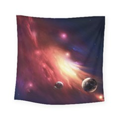 Nebula Elevation Square Tapestry (small)