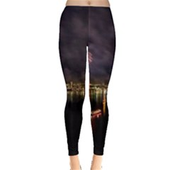New Year's Evein Sydney Australia Opera House Celebration Fireworks Leggings