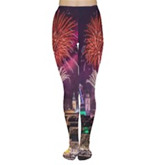 New Year New Year's Eve In Salzburg Austria Holiday Celebration Fireworks Women s Tights