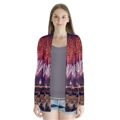 New Year New Year's Eve In Salzburg Austria Holiday Celebration Fireworks Cardigans