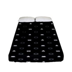 Space Black Fitted Sheet (Full/ Double Size)