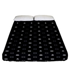 Space Black Fitted Sheet (California King Size)