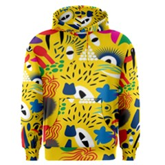 Yellow Eye Animals Cat Men s Pullover Hoodie