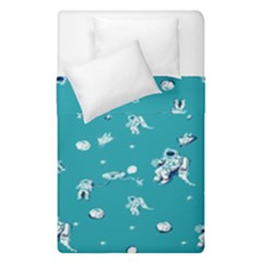 Space Astronaut Duvet Cover Double Side (Single Size)