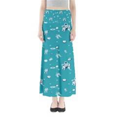 Space Astronaut Maxi Skirts