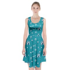 Space Astronaut Racerback Midi Dress