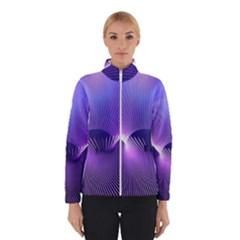 Space Galaxy Purple Blue Line Winterwear