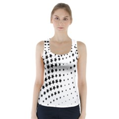 Star Racer Back Sports Top