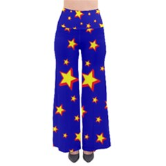 Star Blue Sky Yellow Pants