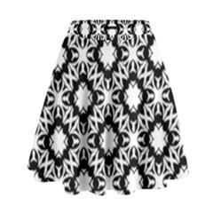 Star Flower High Waist Skirt