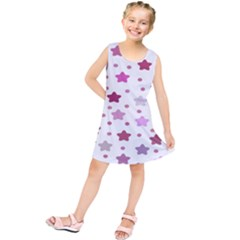 Star Purple Kids  Tunic Dress