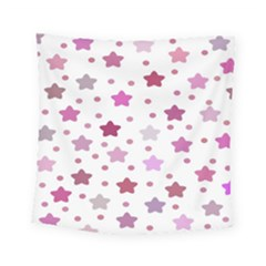 Star Purple Square Tapestry (small)