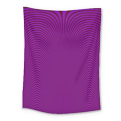 Stripy Purple Medium Tapestry