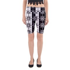 Three Wise Men Gotham Strong Hand Yoga Cropped Leggings