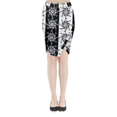 Three Wise Men Gotham Strong Hand Midi Wrap Pencil Skirt