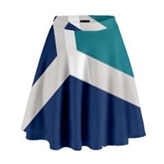 Tri Star Flag High Waist Skirt