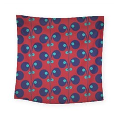 Texture Bright Circles Square Tapestry (small)
