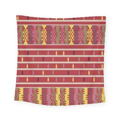 Woven Fabric Pink Square Tapestry (small)