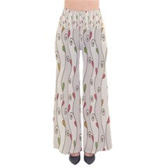 Flower Floral Leaf Pants