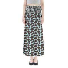 Giraffe Skin Animals Maxi Skirts