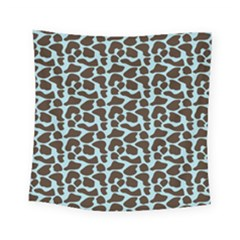 Giraffe Skin Animals Square Tapestry (small)
