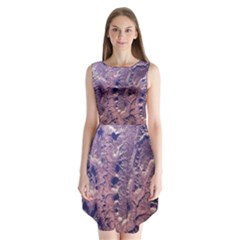 Grand Canyon Space Sleeveless Chiffon Dress