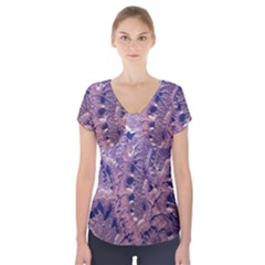 Grand Canyon Space Short Sleeve Front Detail Top