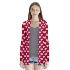 Hearts Love Valentine Pink Day Happy Wallpaper Cardigans