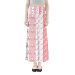 Modelos Toppers Princesa Handcrafted Studio Train King Pink Maxi Skirts