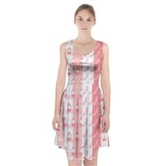 Modelos Toppers Princesa Handcrafted Studio Train King Pink Racerback Midi Dress