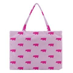 Pig Pink Animals Medium Tote Bag