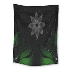 Night Sky Flower Medium Tapestry