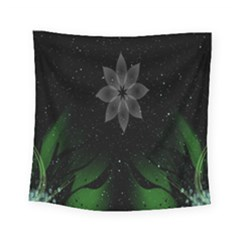 Night Sky Flower Square Tapestry (small)