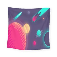 Roket Planet Square Tapestry (small)