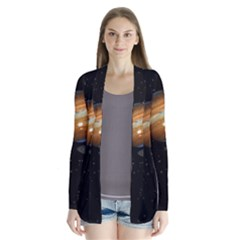 Outer Space Planets Solar System Cardigans