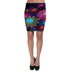 Nice 3d Flower Bodycon Skirt