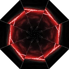 Outer Space Red Stars Star Straight Umbrellas
