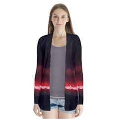 Outer Space Red Stars Star Cardigans