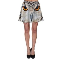 Owl Face Skater Skirt