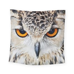Owl Face Square Tapestry (Small)