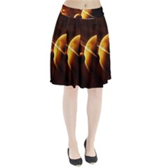 Planets Space Pleated Skirt