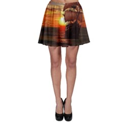 Pirate Ship Skater Skirt