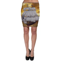 Pirate Ship Bodycon Skirt