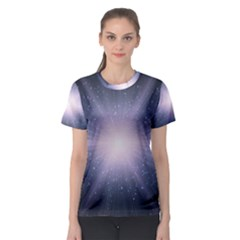 Real Photographs In Saturns Rings Women s Sport Mesh Tee
