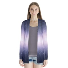 Real Photographs In Saturns Rings Cardigans
