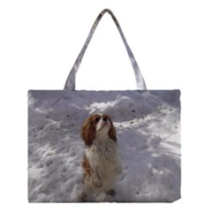 Cav In Snow Medium Tote Bag